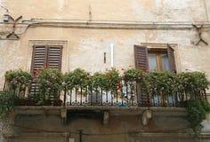 Nice balcony Stock Images