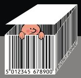 Nice barcode Royalty Free Stock Photo