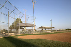 A nice baseball practice field interior. A nice baseball practice field in Warren Sports Complex, city Frisco TX USA royalty free stock images