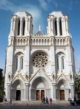 Nice - Basilique Notre Dame royaltyfri fotografi