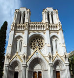Nice - Basilique Notre Dame Stock Images