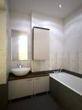 Nice bathroom Stock Images