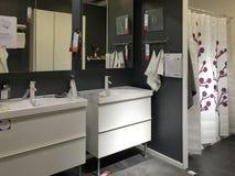 Nice bathroom background royalty free stock photos