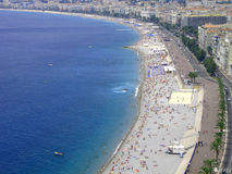 Nice - beach. royalty free stock photos