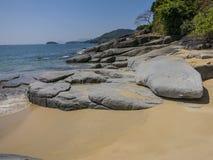 Nice beach in Burma Stock Photos