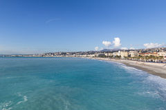 Nice Beach, France Stock Images