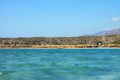 Nice beach in Greece Stock Image