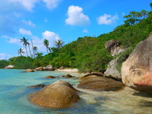 Nice Beach. Thailand 2016, Koh Phangan Island stock photography