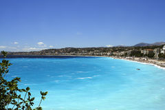 Nice beaches Royalty Free Stock Photo