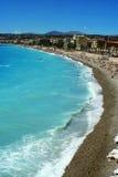 Nice beaches Stock Image