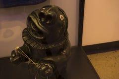 Nice and beautiful statue at kon tiki museum royalty free stock image