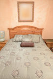 Nice Bedroom. Niced bedroom with faux painted walls Royalty Free Stock Image