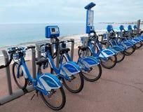 Nice - Bicycles Royalty Free Stock Image
