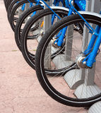 Nice - Bicycles Royalty Free Stock Photo