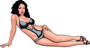 Nice bikini girl Royalty Free Stock Images
