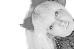 Nice blond Evil Stock Photography