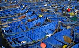 Nice blue boat Royalty Free Stock Image