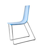 Nice blue chair Stock Images