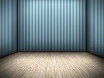 Nice blue room Stock Photo