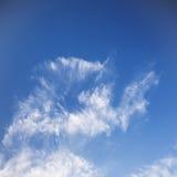 Nice Blue Sky and Cloud Background stock photos