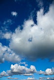 Nice blue sky with clouds formation Royalty Free Stock Images