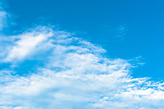 Nice Blue sky most cloudy Royalty Free Stock Image