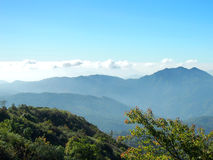 Nice Blue sky on Mountain Stock Photo