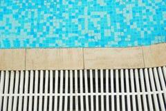 A nice blue water pool Stock Photos