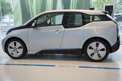 Nice  BMW electric car Stock Image