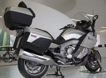 Nice  BMW electric motorcycle Stock Images