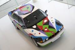 Nice BMW electric vehicles Stock Photos