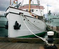 Nice Boat. This is a boat anchored in Halifax, Nova Scotia Royalty Free Stock Photos