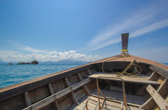 Nice boat. Journey in the indian ocean Stock Photo