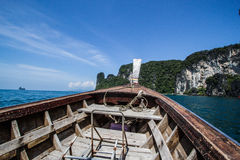 Nice boat. Journey in the indian ocean Royalty Free Stock Images