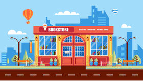 Nice book store Stock Image
