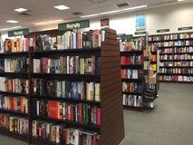 Nice bookshop interior Royalty Free Stock Image
