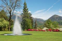 Nice botanic garden Stock Photography