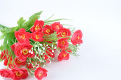 Nice bouquet flowers for house decoration, Artificially. Royalty Free Stock Images