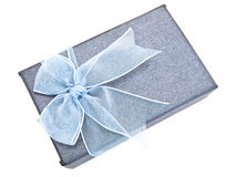 Nice box for gift royalty free stock photo