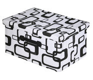 Nice box lid isolated Royalty Free Stock Photography