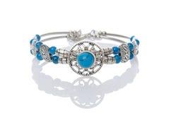 Nice bracelet  on white Royalty Free Stock Photos