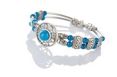 Nice bracelet  on white Stock Images