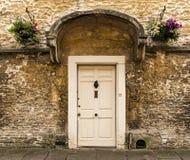 Nice British door Royalty Free Stock Photo