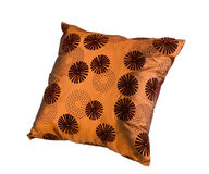 Nice brown cushion pillow Royalty Free Stock Photography