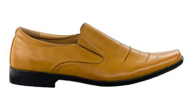 Nice brown leather men shoe Royalty Free Stock Image