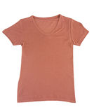 Nice brown T shirt Stock Photo