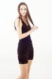 Nice brunette girl Stock Photography