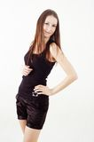 Nice brunette girl Royalty Free Stock Images