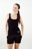 Nice brunette girl Stock Image
