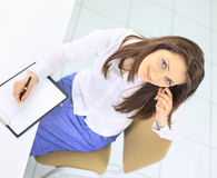 Nice business woman.professional Royalty Free Stock Image